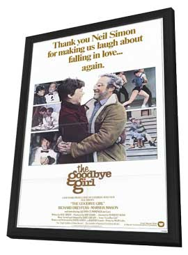 The Goodbye Girl - 11 x 17 Movie Poster - Style A - in Deluxe Wood Frame