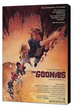 The Goonies - 11 x 17 Movie Poster - Style A - Museum Wrapped Canvas