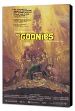 The Goonies - 11 x 17 Movie Poster - Style B - Museum Wrapped Canvas