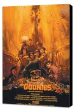 The Goonies - 11 x 17 Movie Poster - Style C - Museum Wrapped Canvas