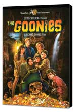 The Goonies - 11 x 17 Movie Poster - Style D - Museum Wrapped Canvas