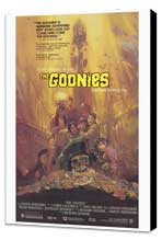 The Goonies - 27 x 40 Movie Poster - Style B - Museum Wrapped Canvas