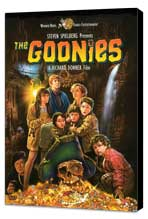 The Goonies - 27 x 40 Movie Poster - Style C - Museum Wrapped Canvas