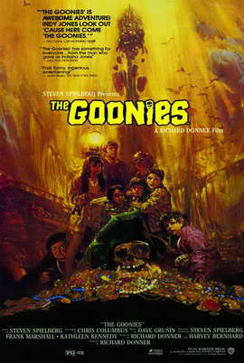 The Goonies - 27 x 40 Movie Poster - Style B