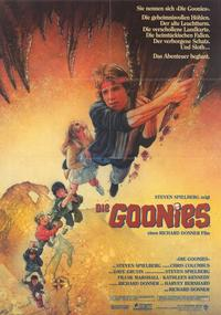 The Goonies - 11 x 17 Movie Poster - German Style A