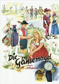 The Goose Girl - 11 x 17 Movie Poster - German Style A
