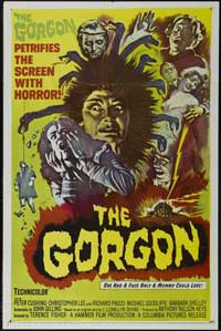 The Gorgon - 27 x 40 Movie Poster - Style B
