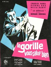 The Gorilla Greets You - 11 x 17 Movie Poster - French Style B