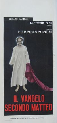 The Gospel According to St. Matthew - 20 x 40 Movie Poster - Italian Style A