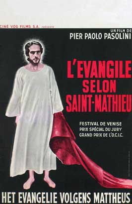 The Gospel According to St. Matthew - 11 x 17 Movie Poster - Belgian Style A