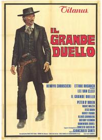 The Grand Duel - 39 x 55 Movie Poster - Italian Style A