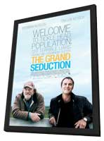 The Grand Seduction - 11 x 17 Movie Poster - Canadian Style B - in Deluxe Wood Frame