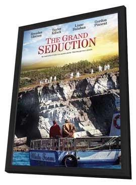 The Grand Seduction - 11 x 17 Movie Poster - Canadian Style A - in Deluxe Wood Frame