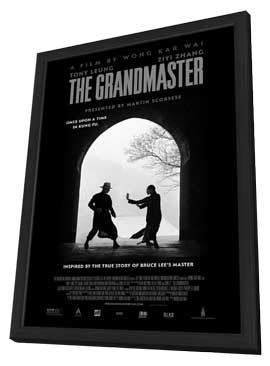 The Grandmasters - 11 x 17 Movie Poster - Style D - in Deluxe Wood Frame