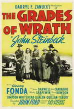The Grapes of Wrath - 27 x 40 Movie Poster - Style B