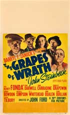 The Grapes of Wrath - 11 x 17 Movie Poster - Style F