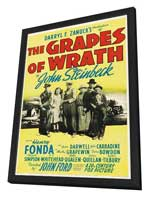 The Grapes of Wrath - 11 x 17 Movie Poster - Style D - in Deluxe Wood Frame