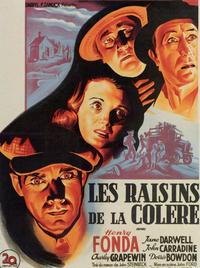 The Grapes of Wrath - 11 x 17 Movie Poster - French Style A