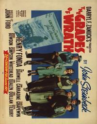 The Grapes of Wrath - 22 x 28 Movie Poster - Half Sheet Style A