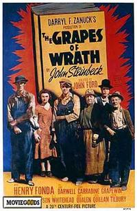 The Grapes of Wrath - 43 x 62 Movie Poster - Bus Shelter Style A