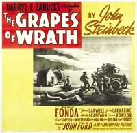 The Grapes of Wrath - 30 x 30 Movie Poster - Style A
