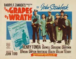 The Grapes of Wrath - 27 x 40 Movie Poster - Style F
