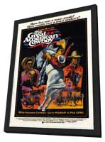 The Great American Cowboy - 11 x 17 Movie Poster - Style B - in Deluxe Wood Frame