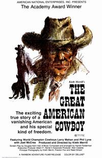 The Great American Cowboy - 11 x 17 Movie Poster - Style A