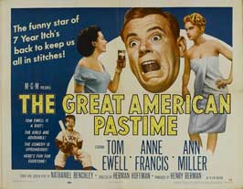 The Great American Pastime - 22 x 28 Movie Poster - Half Sheet Style A