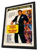The Great Caruso - 11 x 17 Movie Poster - Style A - in Deluxe Wood Frame