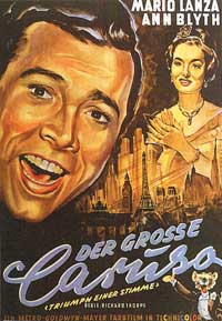 The Great Caruso - 11 x 17 Movie Poster - German Style A