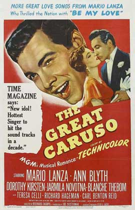 The Great Caruso - 27 x 40 Movie Poster - Style A