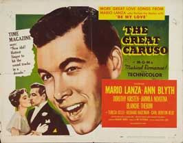 The Great Caruso - 22 x 28 Movie Poster - Half Sheet Style A