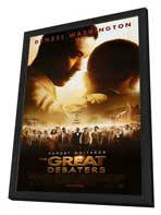 The Great Debaters - 27 x 40 Movie Poster - Style A - in Deluxe Wood Frame