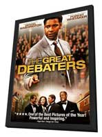 The Great Debaters - 27 x 40 Movie Poster - Style C - in Deluxe Wood Frame