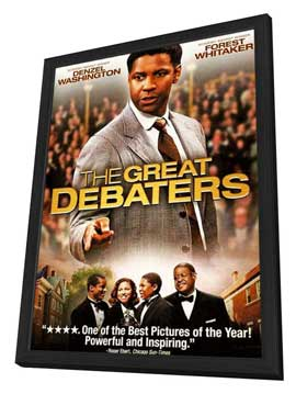 The Great Debaters - 11 x 17 Movie Poster - Style C - in Deluxe Wood Frame