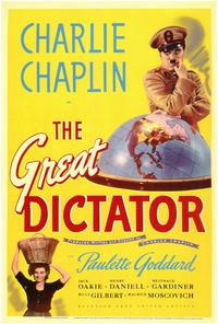The Great Dictator - 11 x 17 Movie Poster - Style A