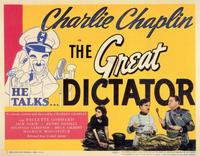 The Great Dictator - 11 x 14 Movie Poster - Style A