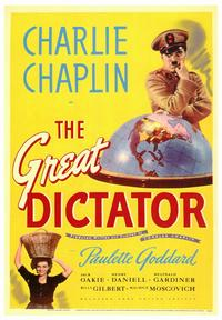 The Great Dictator - 43 x 62 Movie Poster - Bus Shelter Style A