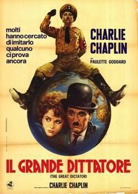 The Great Dictator - 27 x 40 Movie Poster - Italian Style A
