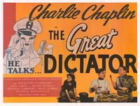 The Great Dictator - Movie Poster - 26 x 36 - Style A