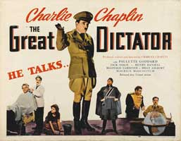 The Great Dictator - 30 x 40 Movie Poster - Style A