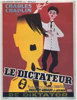 The Great Dictator - 27 x 40 Movie Poster - Belgian Style A