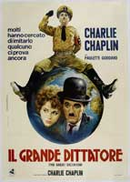The Great Dictator - 43 x 62 Movie Poster - Italian Style A