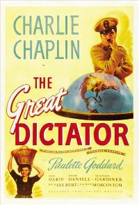 The Great Dictator - 27 x 40 Movie Poster - Style D