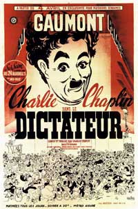 The Great Dictator - 11 x 17 Movie Poster - Style E