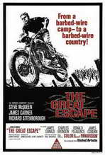 The Great Escape - 27 x 40 Movie Poster - Australian Style A