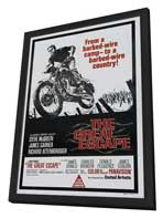 The Great Escape - 27 x 40 Movie Poster - Australian Style A - in Deluxe Wood Frame