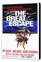 The Great Escape - 27 x 40 Movie Poster - Style A - Museum Wrapped Canvas