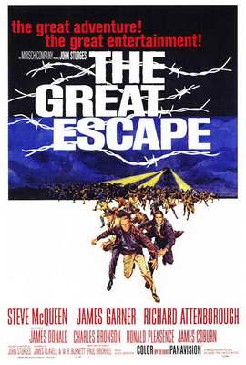 The Great Escape - 27 x 40 Movie Poster - Style A
